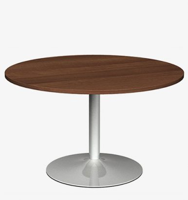 Trumpet Base Circular Table from London Office Furniture Warehouse