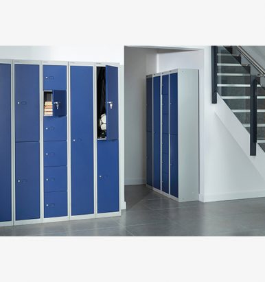 Bisley deep lockers from London Office Furniture Warehouse