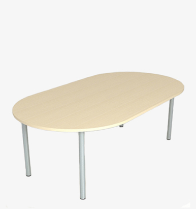 Budget Radial Conference Table - London Office Furniture Warehouse
