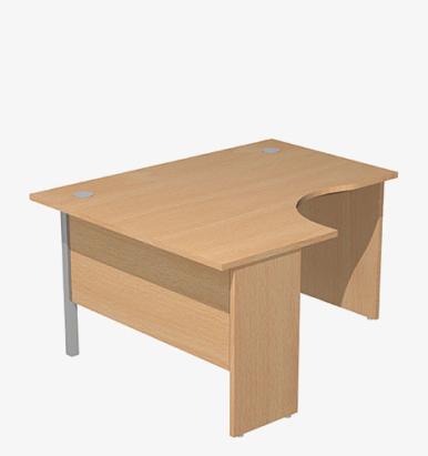 Optima Plus Range Radial Desk - London Office Furniture Warehouse