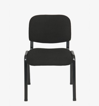 Black budget stacking chair from London Office Furniture Warehouse
