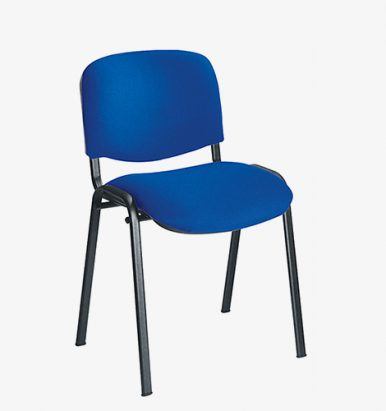 Blue budget stacking chair from London Office Furniture Warehouse