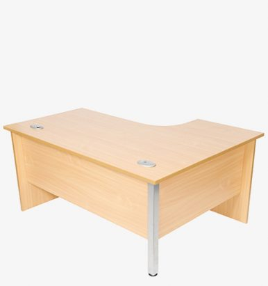 Endurance Range Panel Ended Radial Desk from London Office Furniture Warehouse