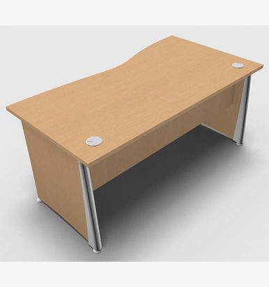 Osmose Wave Desk - London Office Furniture Warehouse