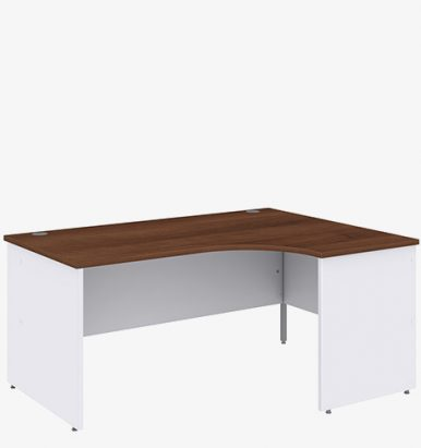 Duo Range Radial Desk from London Office Furniture Warehouse