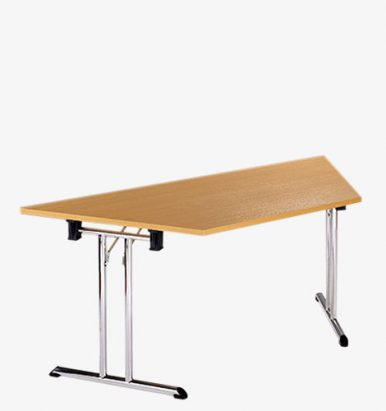 Deluxe Folding-Leg Trapezoidal Meeting Table - London Office Furniture Warehouse