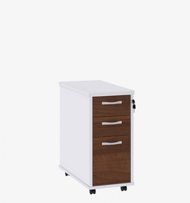Duo Range slimline mobile pedestal from London Office Furniture Warehouse