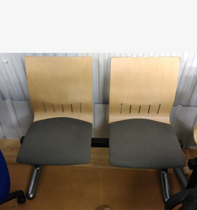 Double Bench Seating - London Office Furniture Warehouse