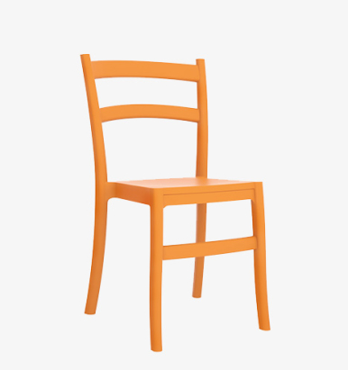 Ego Side Chairs Orange