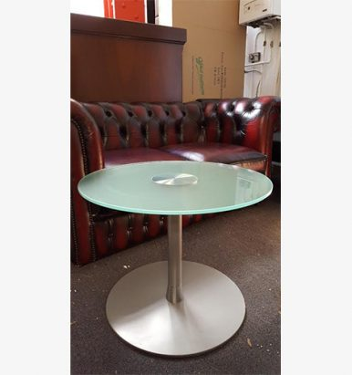 Round Tempered Glass Coffee Tables