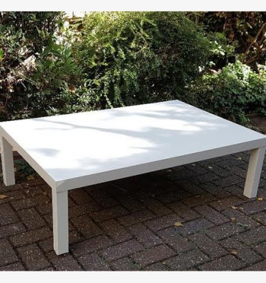 2nd Hand White Coffee Table