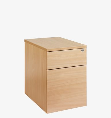 Flush Fronted Mobile Pedestal from London Office Furniture Warehouse