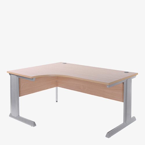 Vivo II Radial Desk from London Office Furniture Warehouse