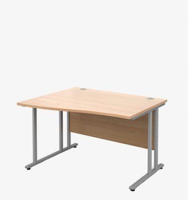 Maestro 25SL Range Wave Desks - London Office Furniture Warehouse