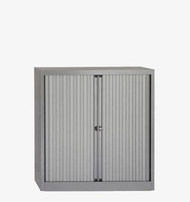 Bisley Euro Tambour Cabinets - London Office Furniture Warehouse