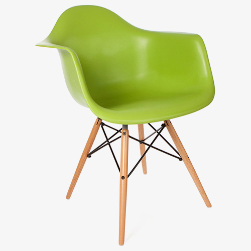 Eames Arm Green 1