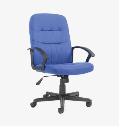 Cavalier Manager chair in blue from London Office Furniture Warehouse