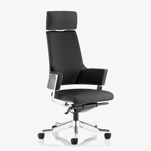 Enterprise chair – black fabric