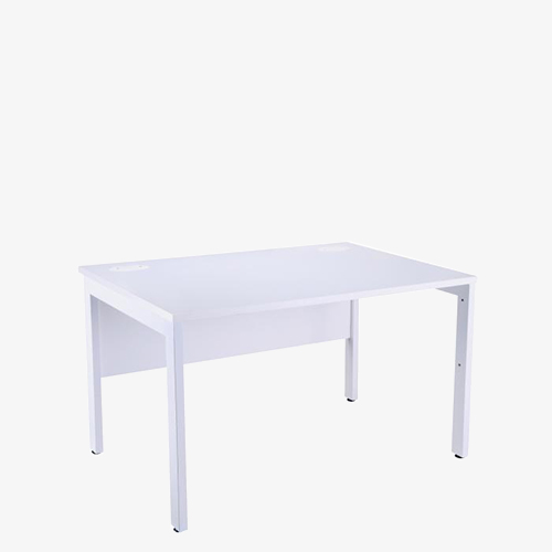 Bench – white and white