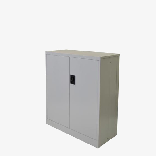 Metal Double Door Cupboard - London Office Furniture Warehouse