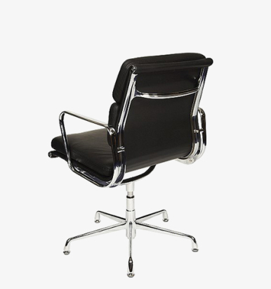 Eames style padded visitor chair from London Office Furniture Warehouse