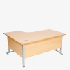 Endurance Range Cantilever Radial Desk from London Office Furniture Warehouse