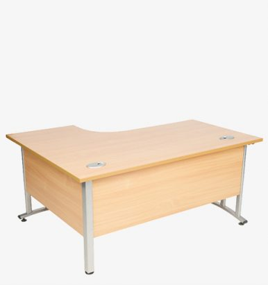 Endurance Range Cantilever Radial Desk from London Office Furniture Warehouse