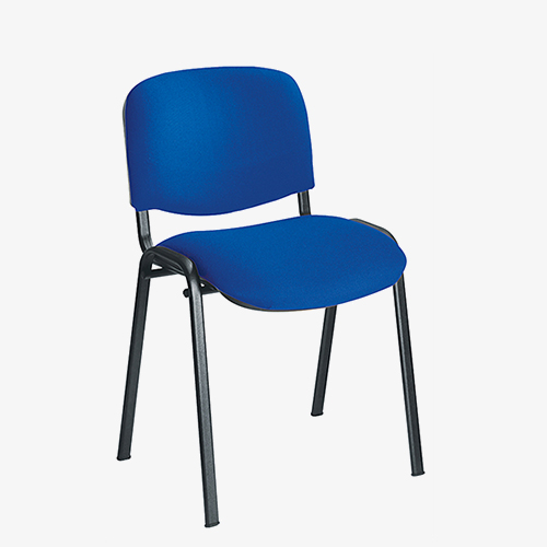 Blue Budget Stacking Chair London Office Furniture