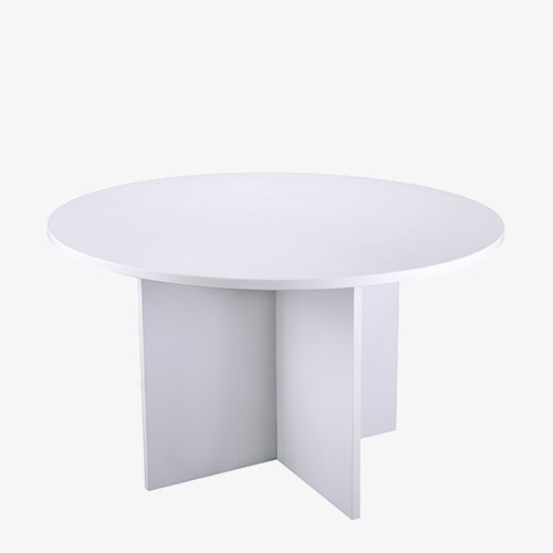 Bench style round table from London Office Furniture Warehouse
