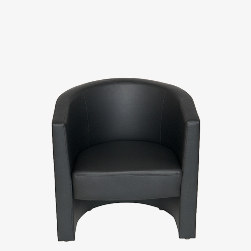Leather tub chair from London Office Furniture Warehouse