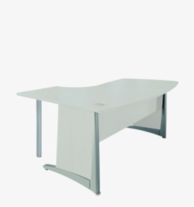 L2 Range Compact Radial Desk - London Office Furniture Warehouse