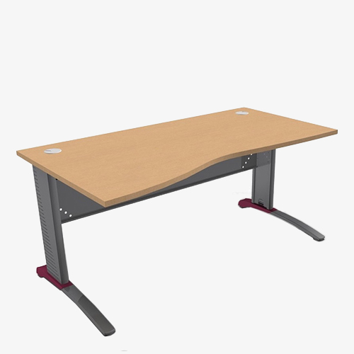 Colour Metal Mod Range Wave Desks - London Office Furniture Warehouse