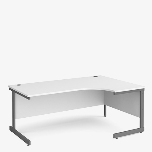 Contract 25 Range Cantilever Radial Desks - Office Furniture in London