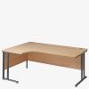 Maestro 25GL Cantilever Range Radial Desk from London Office Furniture Warehouse