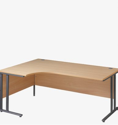 Maestro 25GL Cantilever Range Radial Desk from London Office Furniture Warehouse