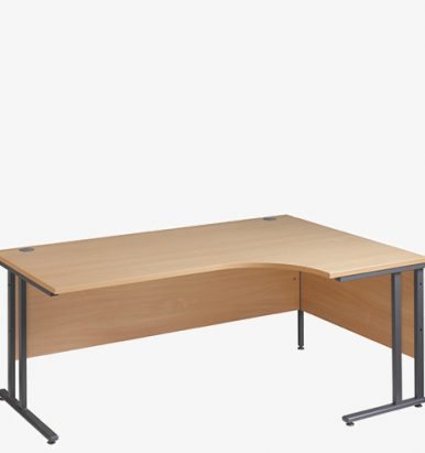 Maestro 25GL Cantilever Range Radial Desks from London Office Furniture Warehouse