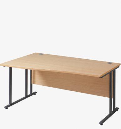 Maestro 25GL Range Wave Desks from London Office Furniture Warehouse