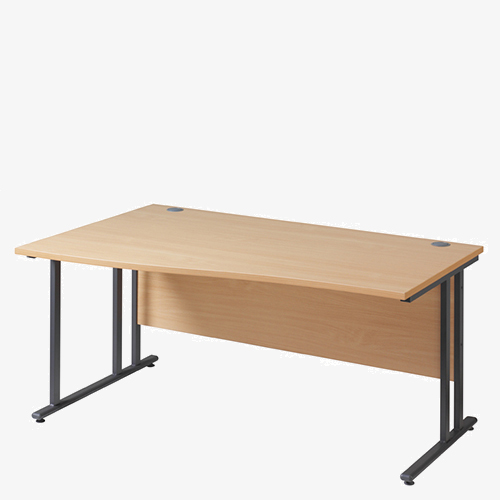 Maestro 25GL Range Wave Desks from London Office Furniture Warehouse