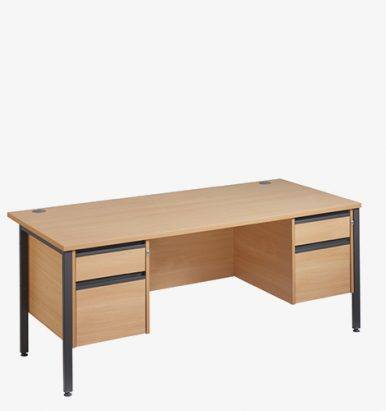Maestro 25GL Range Double Pedestal Desk from London Office Furniture Warehouse