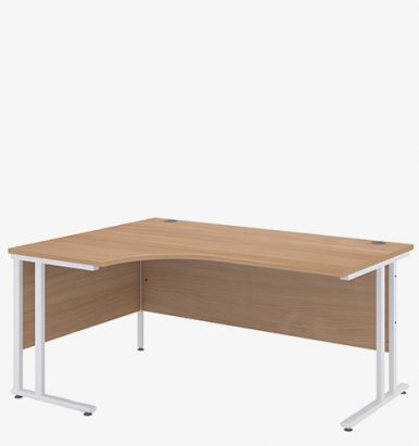 Maestro 25WL Range Radial Desk from London Office Furniture Warehouse