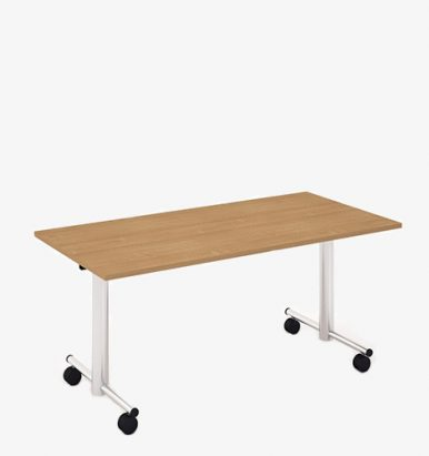 Moveable flip top table from London Office Furniture Warehouse
