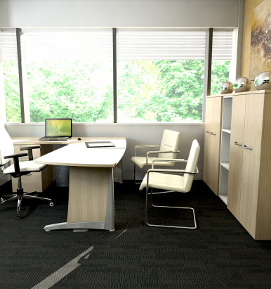 L2 Range Wave Desks - London Office Furniture Warehouse