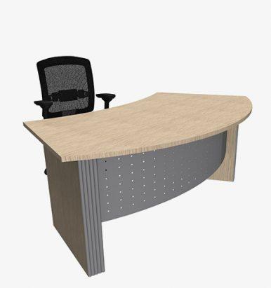 Style Range Curved Desk