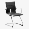 Ritz cantilever chair - black chair - eames