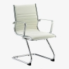Ritz visitor chair - White meeting chair - ritz cantilever chair - eames style chair