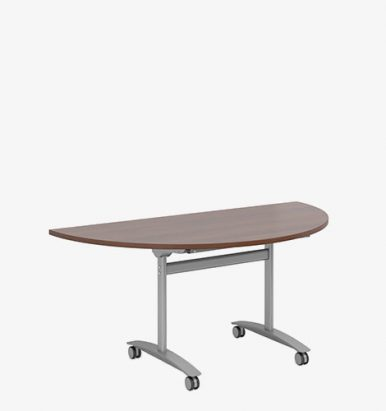 Fliptop Semi-Circular Meeting Table - London Office Furniture Warehouse