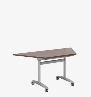 Fliptop Trapezoidal Meeting Table - London Office Furniture warehouse