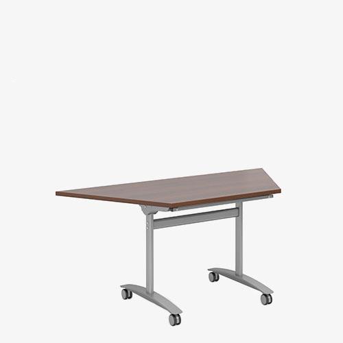 Fliptop Trapezoidal Meeting Table - London Office Furniture warehouse