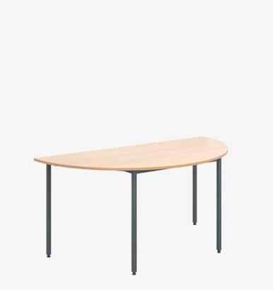 Economy Range Semi-Circular Flexi-Table - London Office Furniture Warehouse