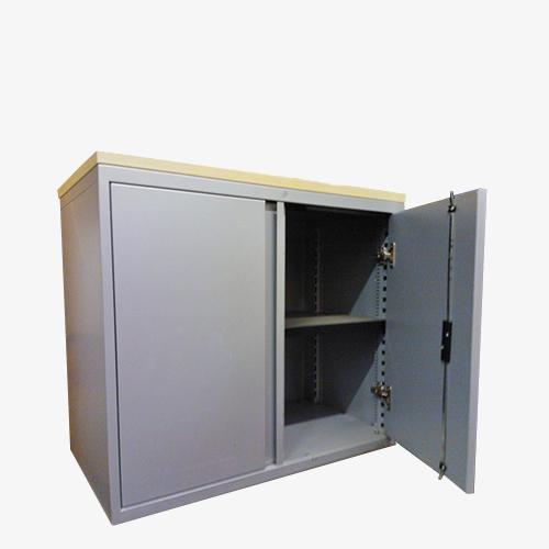 2nd user – double door cabinet – maple top